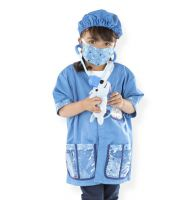 Melissa & Doug Veterinarian Vet Fancy Dress Outfit
