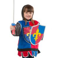Melissa & Doug Knight Fancy Dress Outfit