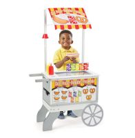 Melissa & Doug Snacks & Sweets Food Cart Pretend Play