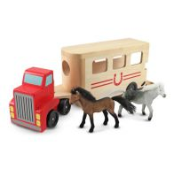 Melissa & Doug Wooden Horse Box