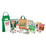 Melissa & Doug Fresh Mart Grocery Store Accessory Pretend Play Set