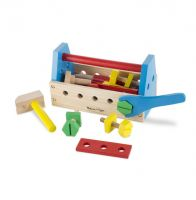 Melissa & Doug Take Along Tool Kit Pretend Play Set