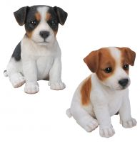 Jack Russell Puppy Dog - Lifelike Ornament Gift - Indoor or Outdoor - Pet Pals
