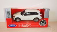 BMW White X5 Diecast Scale Model Car Scale 1:38