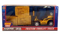 Forklift Truck - Hotrodz - Friction Toy - 3 Boxes
