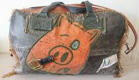 Orange Pig Unique Holdall Overnight Extra Large Bag - Joey D