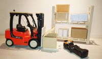 Remote Control Fork Lift Truck 713 Scale Model 1:14