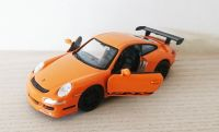 Porsche 911 GT3 RS Orange Die Cast Scale 1:38 Model Car