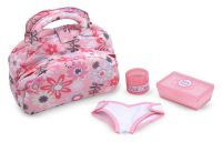 Melissa & Doug Annie Doll Nappy Bag Set