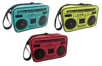 Cool Bag - Retro Radio Music Design - 3 Colours