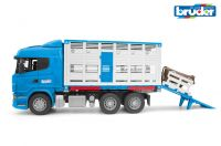 Scania R-Series Cattle Transporter Truck - Bruder 03549 Scale 1:16
