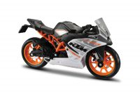 KTM RC 390 Special Edition Motorbike Scale 1/18