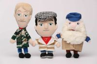 Only Fools and Horses Talking Character Plush - Del Boy Rodney Uncle Albert Set of 3