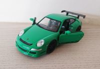 Porsche 911 GT3 RS Green Die Cast Scale 1:38 Model Car