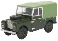 Land Rover Defender Canvas 1957 Series 1 Diecast Model 1:43 Scale - Oxford Commercials