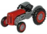 Ferguson TEA TE20 Red Tractor Diecast Model 1:76 Scale OO Gauge - Oxford Agriculture