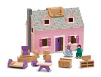 Melissa & Doug Dolls House - Fold & Go