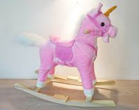 Unicorn Pink Rocking Horse - Sounds & Music