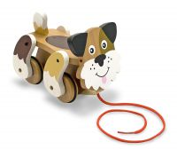 Melissa & Doug Playful Puppy Dog Pull Along Toy