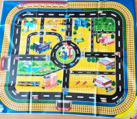 Giant Car City Playmat Plastic Wipe Clean