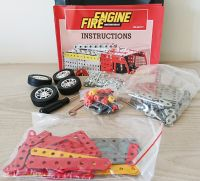 Fire Engine Stainless Steel Model Construction Kit Set - 307 Pieces
