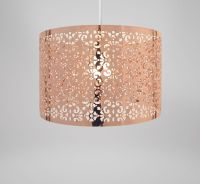 Lampshade - Rose Gold Copper Metal Marrakech