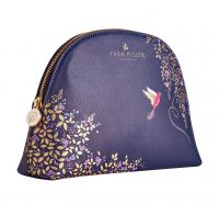 Sara Miller - Medium Cosmetic Make Up Wash Bag - Blue Bird