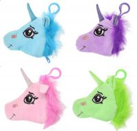 Unicorn Plush Toy Gigi Queen Purse - 4 Colours