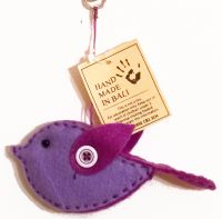 Handmade Felt Bird Decoration - 3 Colours