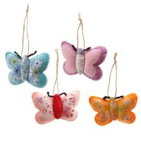 Butterfly Felt Decoration - 4 Colours
