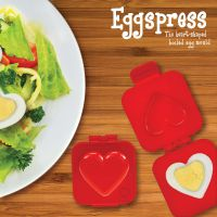 Eggspress Heart - Transform Your Hard Boiled Egg