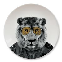Wild Dining Party Animal Lion Plate