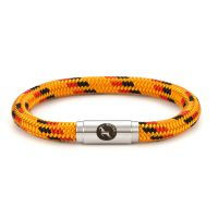 Boing Newmarket Yellow Sunset Rope Bracelet Steel Clasp