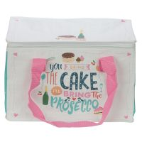Prosecco Picnic Large Cool Bag Lunch Box - Cake