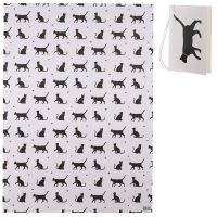 Cat I Love My Cat Gift Wrapping Paper Sheet & Tag