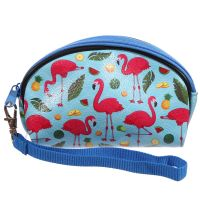 Flamingo Design Purse Makeup Wash Bag