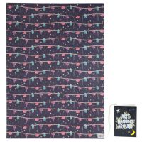 Sloth Just Hanging Around Gift Wrapping Paper Sheet & Tag