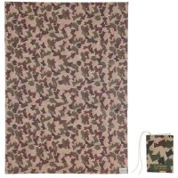 Camouflage Army Gift Wrapping Paper Sheet & Tag