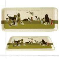 Scruffy Mutts Biscuit Club Dog Tea Tray - The Little Dog
