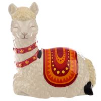 Alpaca Figure Money Bank Box