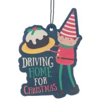 Christmas Elf Air Freshener Christmas Cake Scent