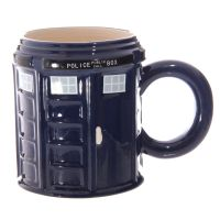 Police London Telephone Box Mug in Box