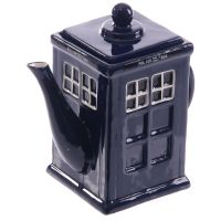 Police London Telephone Box Teapot