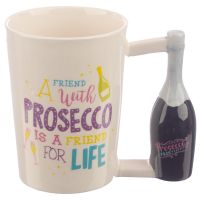 Pop the Prosecco Novelty Ceramic Mug