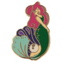 Mermaid Enchanted Seas Design Enamel Pin Badge