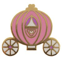 Princess Carriage Enchanted Kingdom Design Enamel Pin Badge