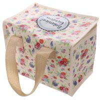 Botanical Garden Country Chic Picnic Cool Bag Lunch Box