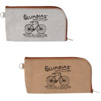 Bicycle Design Sun Glasses Pouch Purse Zipped