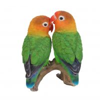 Love Birds - Lifelike Garden Ornament - Indoor or Outdoor - Real Life