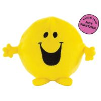 Mr Men Happy Memory Foam Squeezy Squishy - Stress Ball Toy